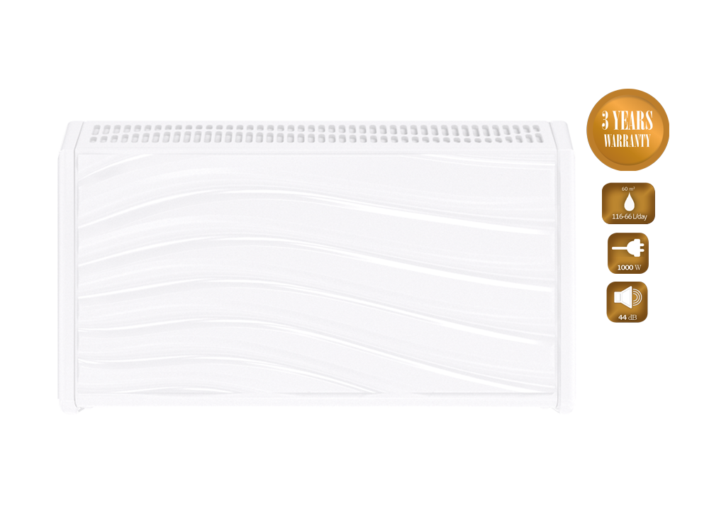 Uszodai párátlanítók Microwell DRY 500 sorozat Plastik és metál