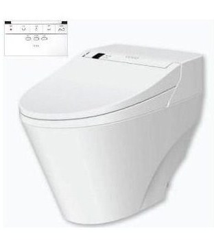 VOVO TCB2011R toilet komplett wc berendezés öblítővel és elektromos bidével ellátva
