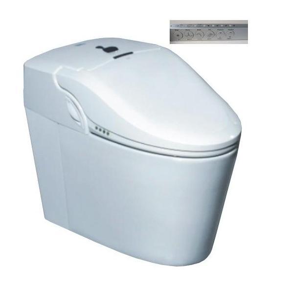 High-tech smart toilet komplett wc berendezés öblítővel és elektromos bidével ellátva