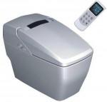 Design toilet komplett wc berendezés öblítővel és elektromos bidével ellátva