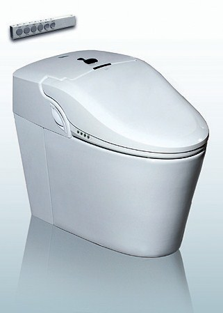 high tech smart toilet komplett wc berendez s bl t vel s elektromos bid vel ell tva luxus. Black Bedroom Furniture Sets. Home Design Ideas
