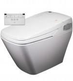 VOVO TCB 080 toilet komplett wc berendezés öblítővel és elektromos bidével ellátva