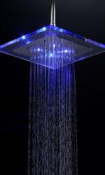 TLS-02 Esőztető fényzuhany (króm és átlátszó akril kivitel)